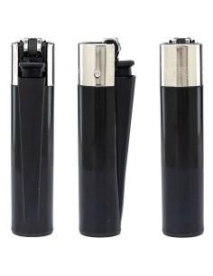 Encendedor Clipper negro liso