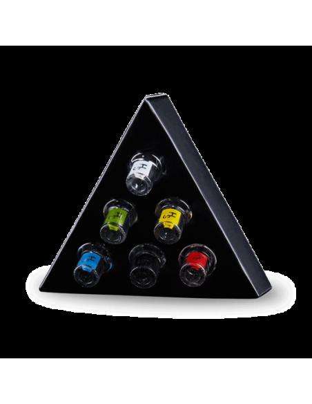 Higher standars premium glass filter tips - box of 6 -